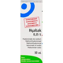 HYABAK Augentropfen 10 ml