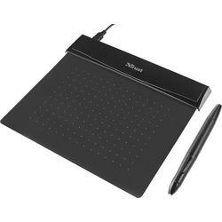 Trust Flex Design Tablet USB Grafiktablett Schwarz