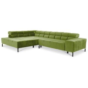 Polsterecke Catelyn (BB 216x321 cm) LOFT green