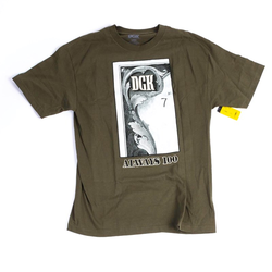Tshirt DGK - Always 100 Tee Military (MILITARY)