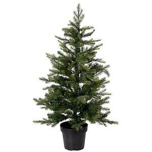 Hochwertiger Tannenbaum mit Beleuchtung, 120 cm
