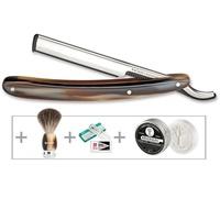 Böker Barberette Horn Rasur Set