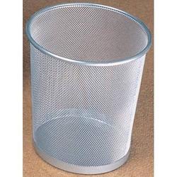Papierkorb Mesh Metall 15l silber