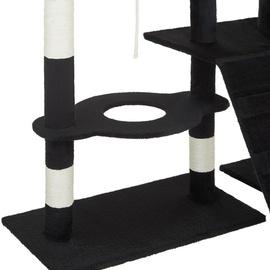 Tectake Deluxe 105 x 62 x 167 cm schwarz