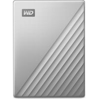Western Digital My Passport Ultra für Mac 4TB USB-C 3.0 silber (WDBPMV0040BSL-WESN)