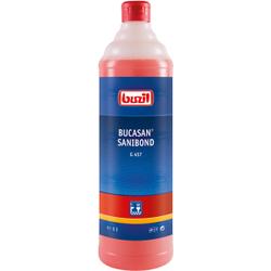 Buzil Sanitärreiniger Bucasan® Sanibond G 457, Viskoser Unterhaltsreiniger auf Zitronensäurebasis, 1 Liter - Flasche