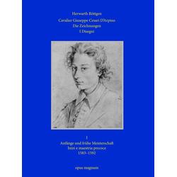Cavalier Giuseppe Cesari D'arpino als Buch von Herwarth Röttgen/ Röttgen Herwarth