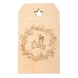 Rayher Geschenkanhänger Holz