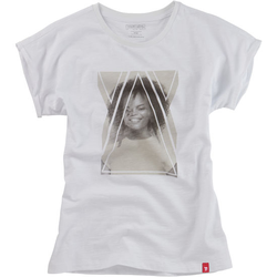 T-Shirt Fotoprint, weiß, Gr. 152/158 - 152/158 - weiß