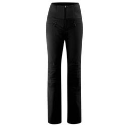 Maier Sports Skihose Ellaya Warme Jethose, gepolsterte Knie, elastisch schwarz 44