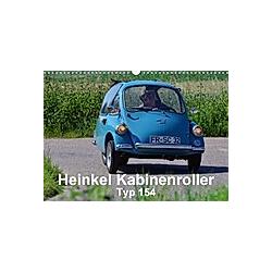 Heinkel Kabinenroller Typ 154 (Wandkalender 2021 DIN A3 quer) - Kalender