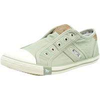 MUSTANG Damen 1099-401 Slip On Sneaker, Grün 42 EU