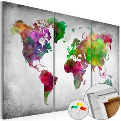 Tablica korkowa Różnorodność świata