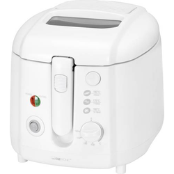 Clatronic FR 3390 Fritteuse 1800W Weiß