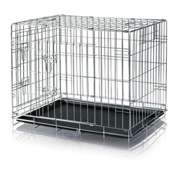 TRIXIE Hundekäfig verzinkt 62 cm x 78 cm x 55 cm