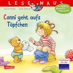 Lesemaus - Band 83: Conni geht aufs Töpfchen