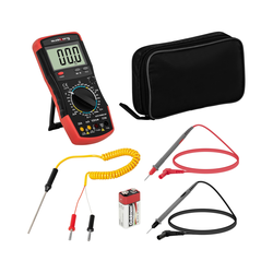 Steinberg Systems Multimeter - 2.000 Counts - hFE-Transistortest - Temperaturmessung SBS-DM-1000