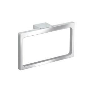 Keuco Edition 11 Handtuchring (Farbe chrom, Breite 261 mm, geradliniges Design, für Badezimmer) 11121010000