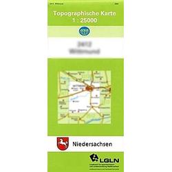 Norden 1 : 25 000. (TK 2409/N) - Buch