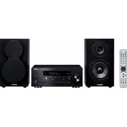Yamaha MCR-N470D Stereoanlage (FM-Tuner mit RDS, Digitalradio (DAB), Internetradio, 44 W) schwarz