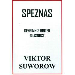 Speznas als Buch von Viktor Suworow