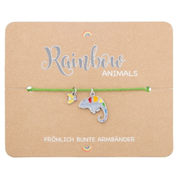 Armband - Rainbow Animals - Chamäleon