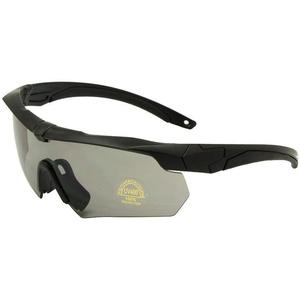 ZoliTime ESS Crossbow Photochrome Ballistic Eyeshields Brille (schwarz, 3 Linsen)
