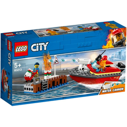 LEGO City 60213 - Feuerwehr am Hafen