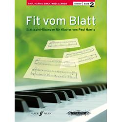 Fit vom Blatt Klavier. Bd.2