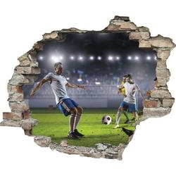 Wandtattoo »Fußball« (1 Stück), Wandtattoos, 37369837-0 bunt 60x0,1x50 cm bunt