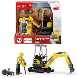 Dickie Toys Spielzeug-Auto Playlife - Baustellen- Set
