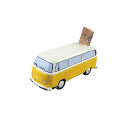 VW Bulli T2 Spardose orange