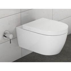 SSWW Tiefspül-WC SSWW ALPHA Design Hänge-Dusch-WC Taharat Toilette