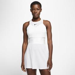 Maria Damen-Tenniskleid - Weiß, size: L