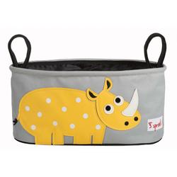3 Sprouts - Kinderwagentasche Nashorn