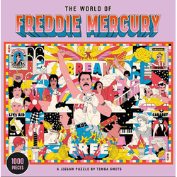 The World of Freddie Mercury: A Jigsaw Puzzle