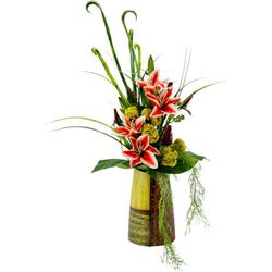 Kunstpflanze Lilie, I.GE.A., Höhe 74 cm