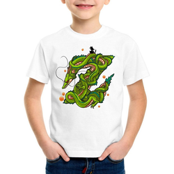 style3 Print-Shirt Kinder T-Shirt Z Drache shenlong dragon gokui ball shenron 152