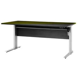ebuy24 Schreibtisch Prisme Schreibtisch B elektronisch heben/senken Sc