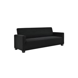 Sofahusse, neu.haus, 140-210cm Schwarz Sofabezug 3-Sitzer schwarz