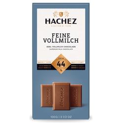 Hachez Schokolade Feine Vollmilch mit 44% Kakao Füllung 100g