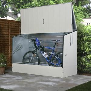 Tepro Metall Fahrradbox / Fahrradgarage beige