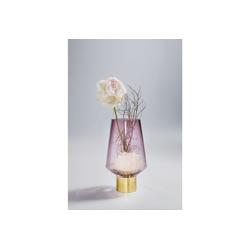 KARE Dekovase Vase Noble Ring Lila 26cm