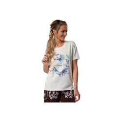 tectake T-Shirt T-Shirt Herzilein (1-tlg) XXL