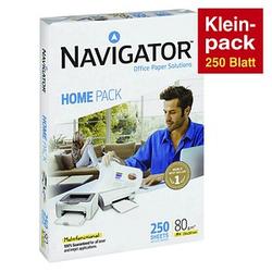 NAVIGATOR Kopierpapier HOME PACK DIN A4 80 g/qm 250 Blatt