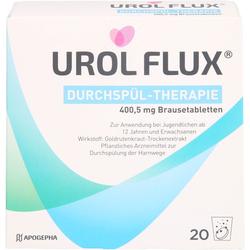 UROL FLUX Durchspül-Therapie Brausetabletten 20 St
