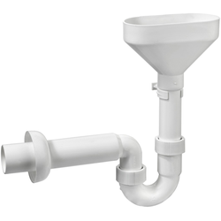 CORNAT Siphon Tropfwassser-Geruchsverschluss, zum Auffangen von Tropfwasser