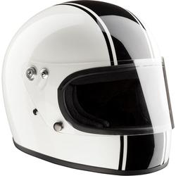 Bandit Integral ECE Motorradhelm, weiss, Größe M