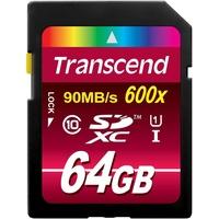 Transcend SDXC 64GB Class 10 UHS-I 600x