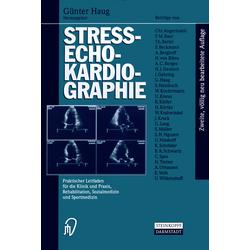Streß-echokardiographie als Buch von